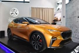 合众新能源车E-TAKE正式亮相