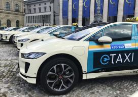你還沒見過實車的捷豹I-PACE 在德國已經成了出租車