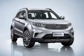 江铃福特推出全新SUV Territory,将于2019年初上市