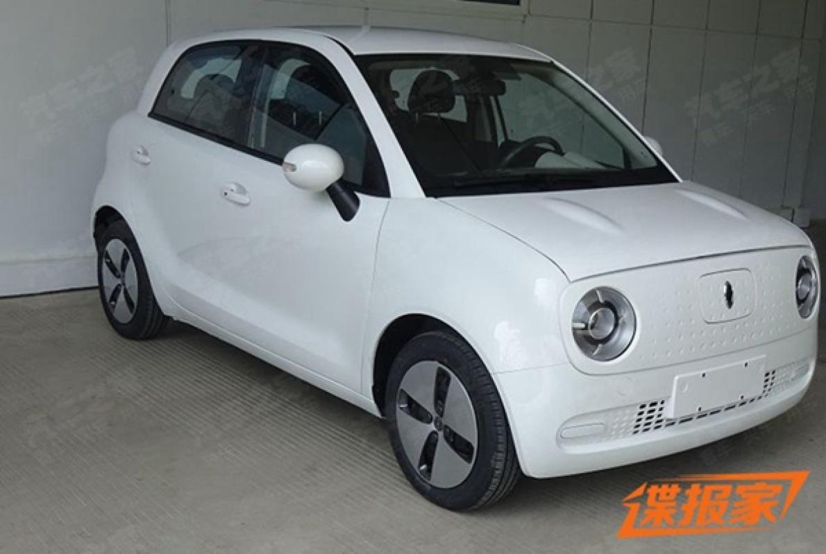 长城欧拉R1申报图曝光,延续概念车可爱造型