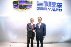 马来西亚总理见证吉利宝腾合作,深化新能源领域发展
