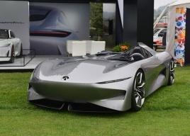2018圆石滩车展英菲尼迪Prototype 10亮相