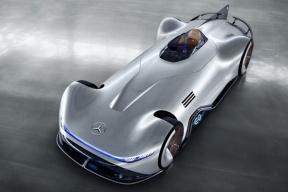 未来与经典的融合,奔驰EQ Silver Arrow Concept官图发布