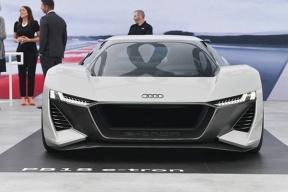 奥迪PB18 e-tron亮相圆石滩车展,为纯粹的驾驶而生