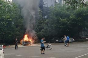 威马EX5试装车发生起火自燃,官方发出正式声明