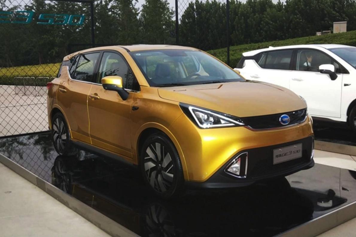 续航410的精品小型SUV,售价12.98万起,广汽新能源传祺GE3 530上市