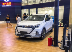 又双叒看到了这款车   北汽新能源EX5这次会上市吗