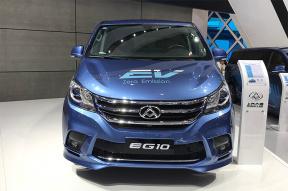 国产7座纯电动MPV   上汽大通2019款EG10首发亮相
