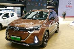 EX5作为北汽新能源首款紧凑型SUV,确定于广州车展上市