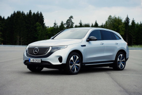 奔驰终于发布了首款纯电动汽车  电动邦现场体验EQC