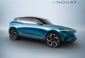 2019年交付 电咖旗下ENOVATE首款车型预告图发布