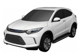 将于广州车展首发 理念电动车量产版专利图曝光
