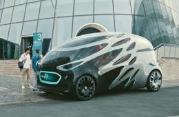 """戴姆勒研发双用途自动驾驶电动车 """"送货""""和""""载人""""模式自由切换"""