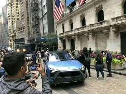 中国电动汽车美国第一股 华尔街,蔚来is coming