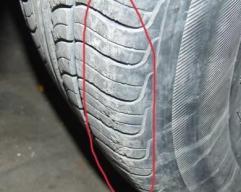 汽车前轮轮胎磨损严重,汽车怎么判断汽车轮胎的磨损问题介绍