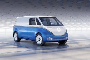 大众I.D. BUZZ电动货车亮相汉诺威商用车展 装备111千瓦时电池
