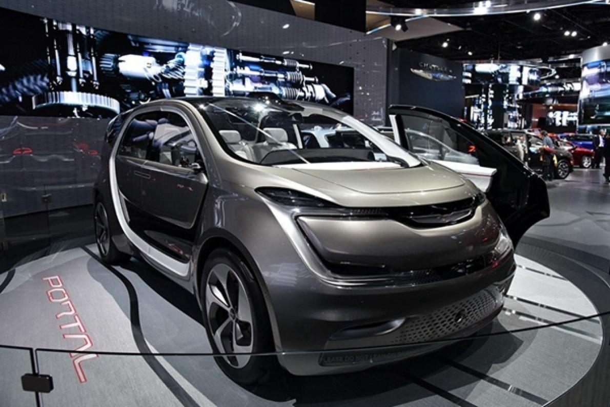 克莱斯勒纯电车Portal,计划于2020年开始量产