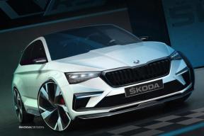 斯柯达VISION RS预告图发布,将于巴黎车展首发