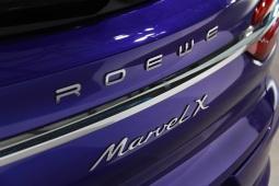 纯电智能SUV,荣威Marvel X 正式亮相上海
