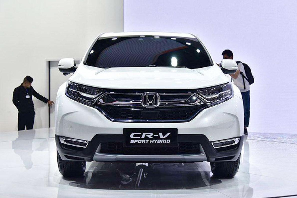 2019款本田CR-V混动车型将于11月上市