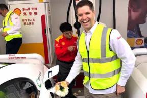 依托加油站建设,壳牌充电站在天津投入运营