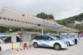 深圳再添新能源充电站 可供103台车同时充电
