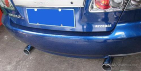 汽车的排气管在什么位置?汽车排气管位置介绍