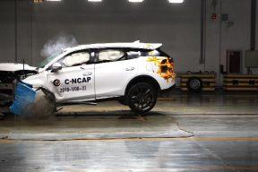 刚刚,比亚迪唐DM完成了C-NCAP碰撞试验