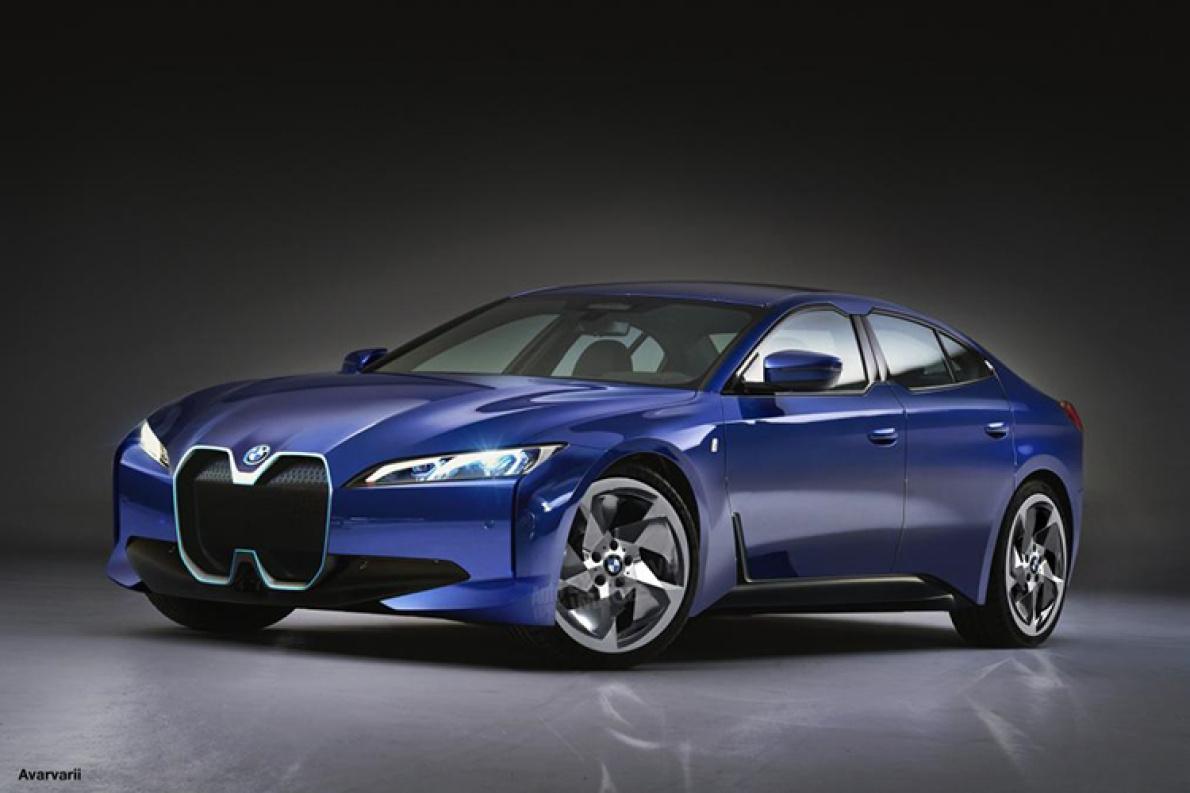 或2021年推出 外媒曝光BMW i4假想图