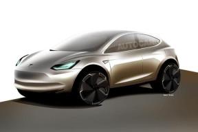 2019年3月发布,2020年初量产? Model Y原型车批准生产