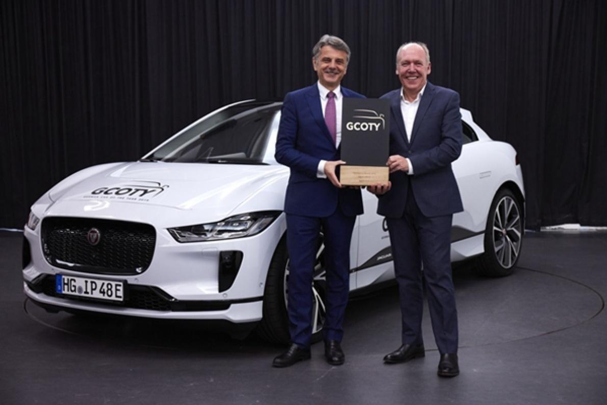 捷豹I-PACE因设计和实用性突出,获得GCOTY汽车大奖