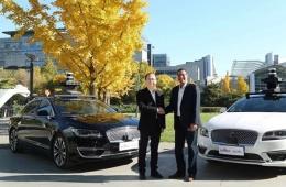 福特与百度联手,在北京宣布启动自动驾驶测试项目
