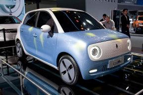 """基于长城""""ME""""电动汽车专属平台打造 欧拉R1亮相天津"""
