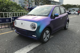 蓝紫渐变和玫瑰金 欧拉R1要做车界巴啦啦小魔仙?