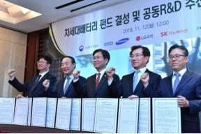 韩国电池厂商抱团取暖,共同研发新一代电池材料