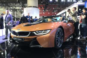 新增两种外观配色 BMW i8敞篷版广州车展接受预定