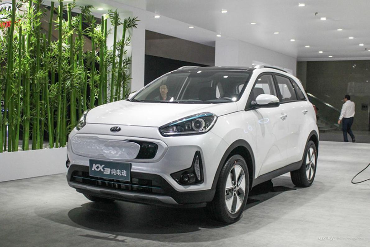 广州车展:起亚KX3 EV正式亮相,最大续航300公里
