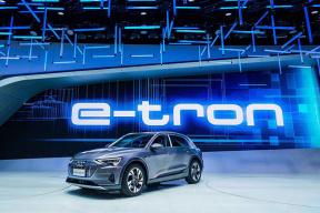 奥迪e-tron明年4月确认上市,你还会买58万的Model 3吗?