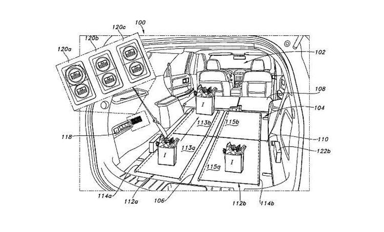 据悉,两条座椅行成的传送带将使用一个电机,并且拥有一个可以控制