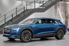或推入门版和高性能版车型 奥迪e-tron或2020年国产