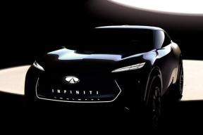 车身圆润可爱,前脸夸张犀利,英菲尼迪SUV概念车明年1月首发