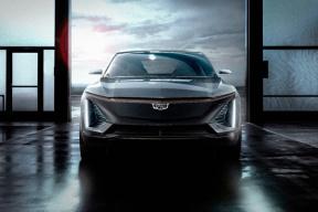 够运动,够唬人,凯迪拉克发布首款纯电动车型官图