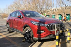 围观!!红旗纯电动SUV车型E-HS3实拍来了!!