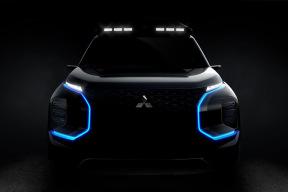 硬派越野味儿十足 三菱或推全新纯电SUV概念车