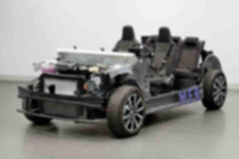 尺寸与探歌接近价格不到Model3的一半大众将推新款电动紧凑SUV电
