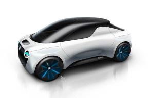 本田公布TOMO电动车概念图  或在今年日内瓦车展亮相