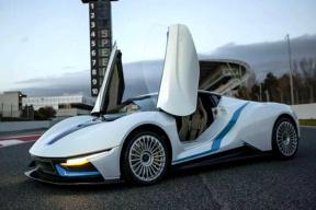 加速2.7秒,售价过千万,北汽这款纯电动超跑将亮相日内瓦车展