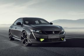 百公里加速4.3秒,标致推508高性能版插混概念车,日内瓦车展首发