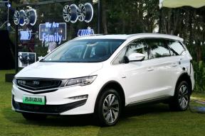 插混车型补贴后18-19万,吉利首款MPV嘉际开始预售