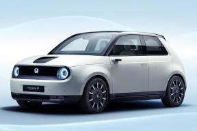 延续Urban EV的复古造型 本田e Prototype发布官图